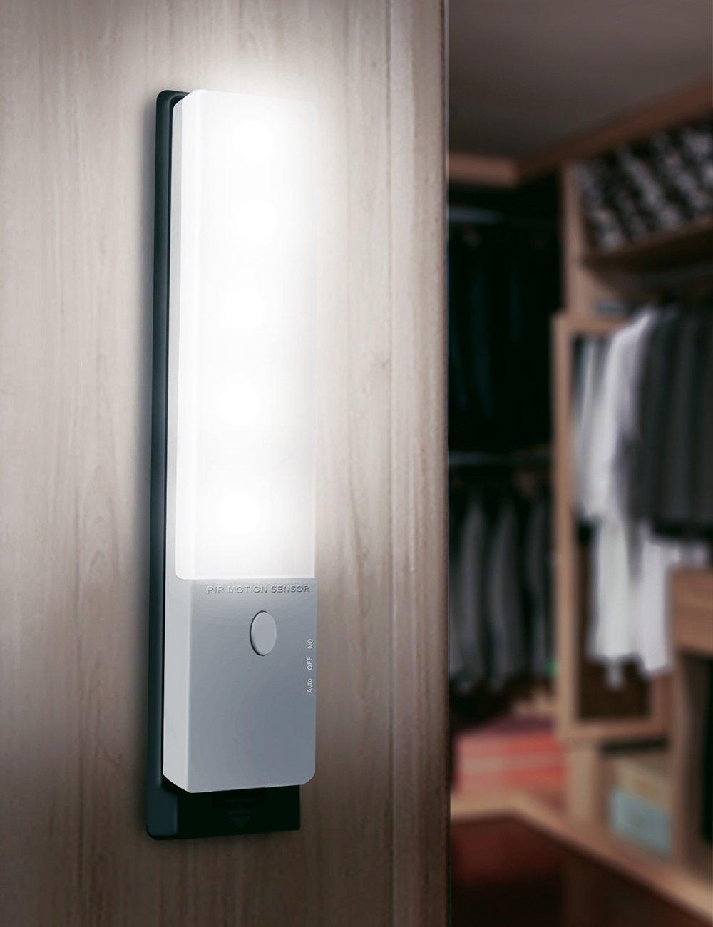 LEDemain® Luce Notturna Ricaricabile del sensore di movimento ...