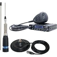 Radio CB PNI Escort HP 6500 ASQ con Antena CB PNI ML160 con Base magnética