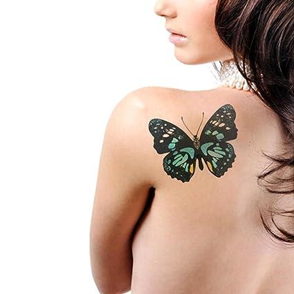 LZC temporal tatuaje impermeable hombro brazo pegatinas fiesta de ...