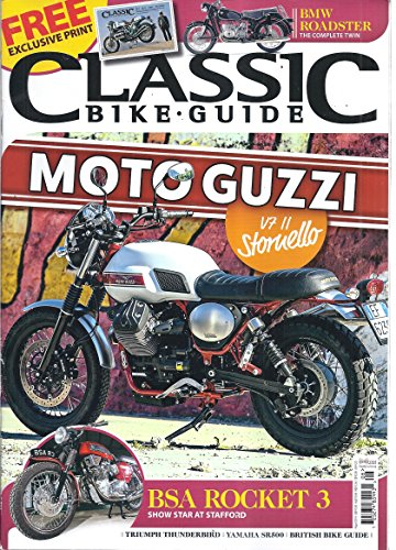 Classic Bike Guide Magazine (Free Exclusive Print - for sale  Delivered anywhere in USA