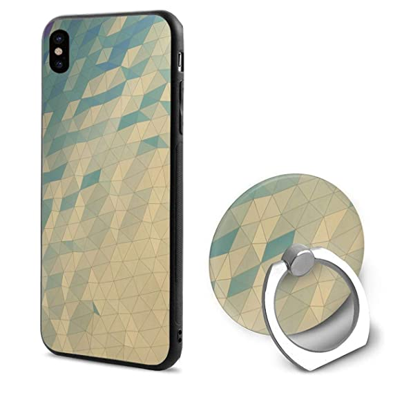 Amazon Com Phone X Case Geometric Wallpaper Ring Cell Phone