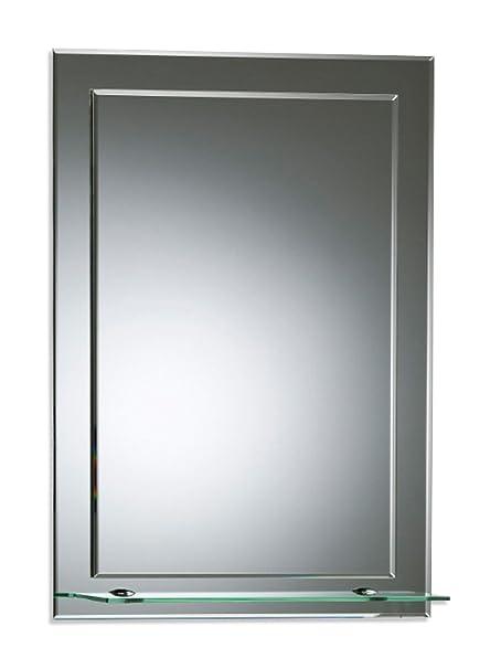 Neue Design Bathroom Mirror On Mirror Elegant Rectangular With Shelf