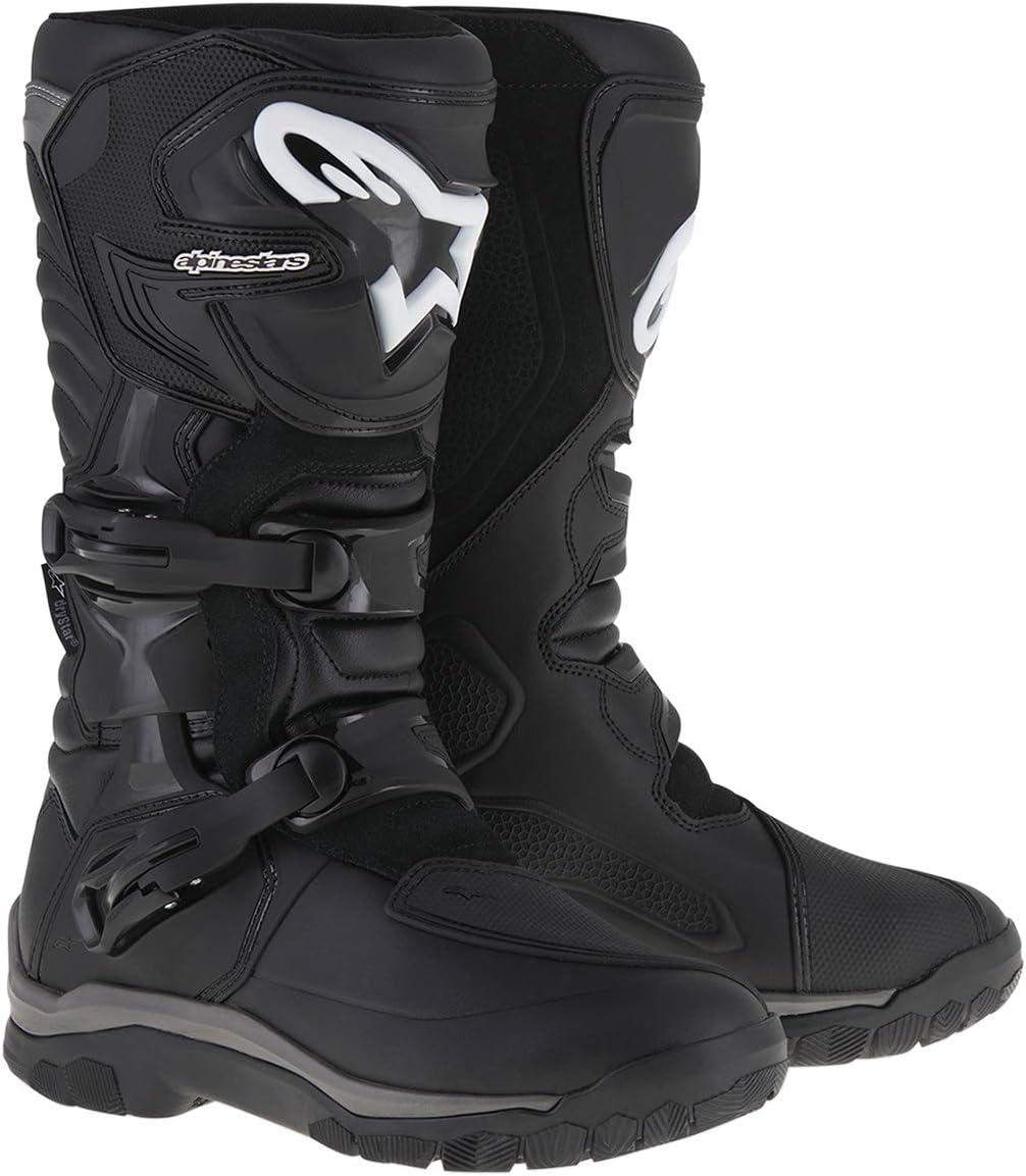 Alpinestars 3410-1489 Corozal Adventure Drystar Men's Motorcycle Touring Boots (Black, US Size 12)