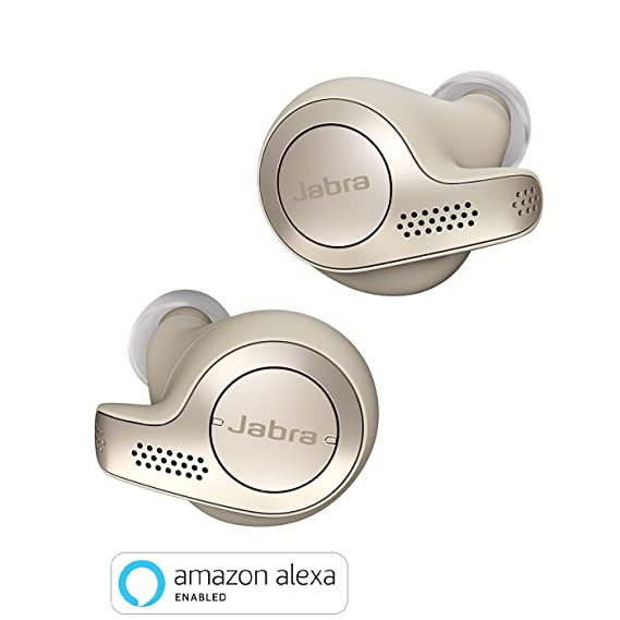 14e185b04b5 Jabra Elite 65t Alexa Enabled True Wireless Earbuds with Charging Case –  Gold Beige: Amazon.ca: Cell Phones & Accessories