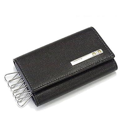 922d9acf1193 Amazon | [カルティエ] L3000775 ブラック 6連キーケース SANTOS ...