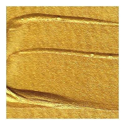 Golden Fluid Iridescent Acrylics - Iridescent Bright Gold Fine - 128 oz Bottle