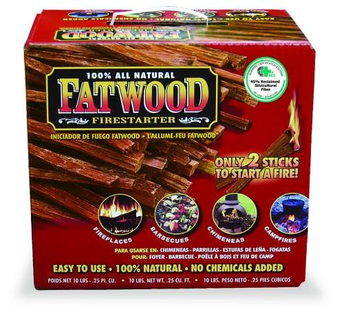 Uniflame 10 LB. Fatwood Firestarter in Colored Carton