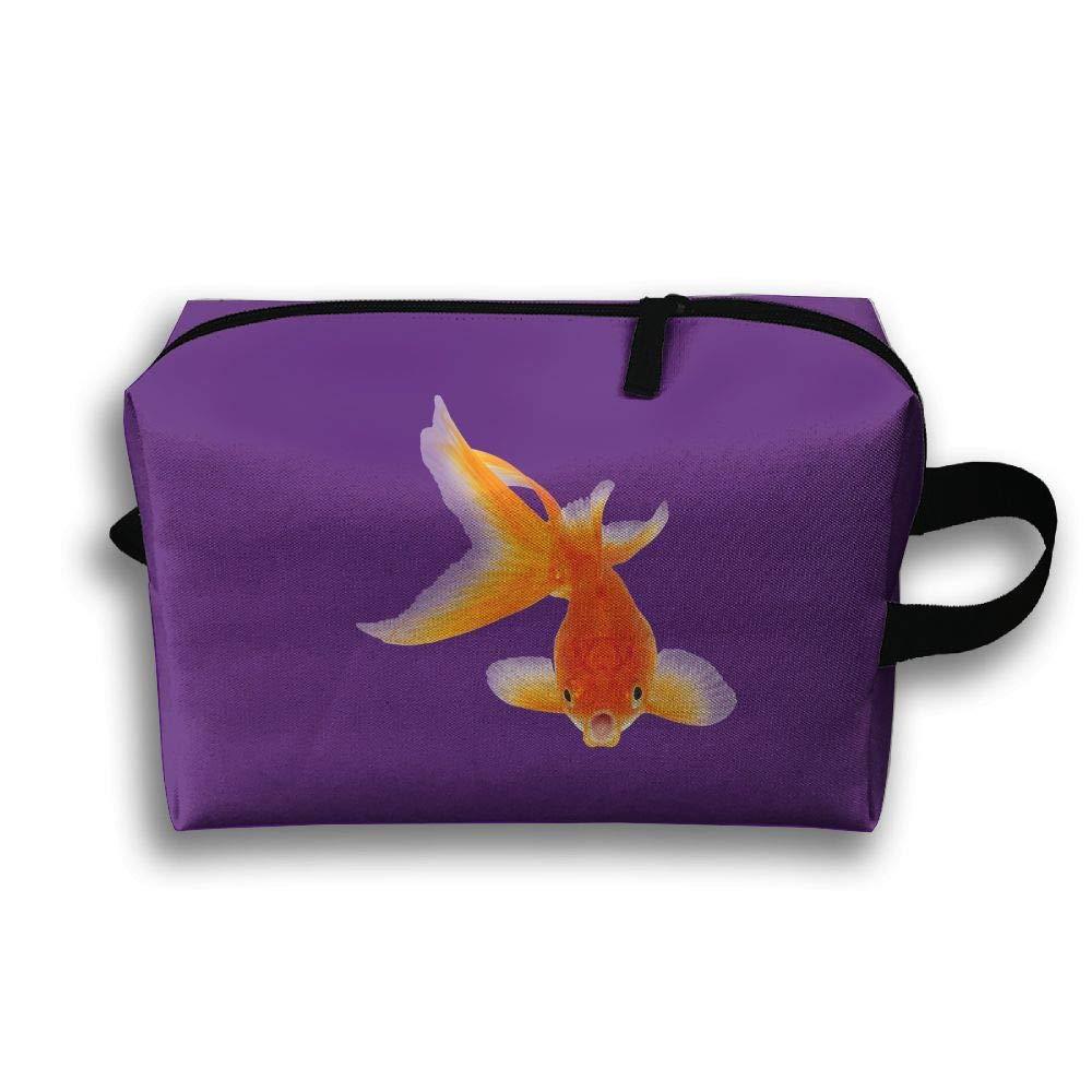 Amazon.com: Pinkipory Travel Cosmetic Bag Portable Handbag ...