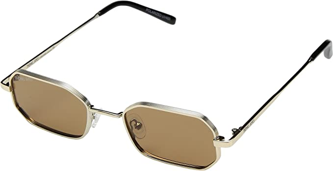 39bf77751b THOMAS JAMES LA by PERVERSE Sunglasses Women s Furious Gold Brown Lens One  Size