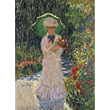 Canvas Prints Of Oil Painting 'Camille With Green Umbrella, 1876 By Claude Monet' 10 x 14 inch / 25 x 35 cm , Polyster Canvas Is For Gifts And Garage, Living Room And Powder Room Decoration, pictures