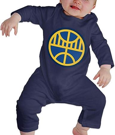Oakland Golden State California Basketball Short Sleeve Nursling Jumpsuit Cute Footies Summer Bodysuits