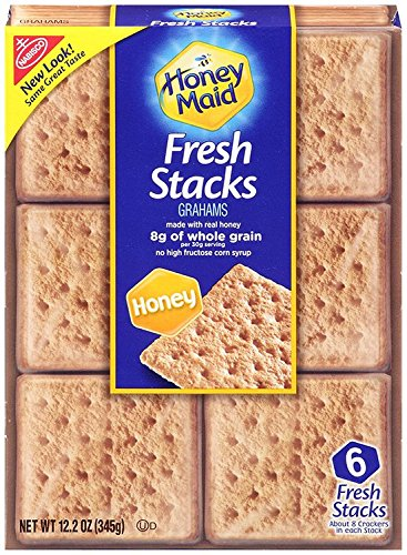 Honey Maid Graham Crackers in Fresh Stacks (12.2-Ounce Boxes, (Fresh Graham Cracker)