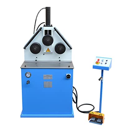 2HP Ring Band Roller Round Angle Bender Hydraulic Bending