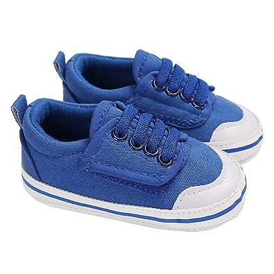 New Hook Loop Sneakers Baby Boys Shoes Soft Sole No-Slip First Walker Prewalkers