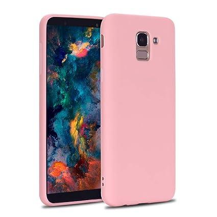 CoqueCase Funda para Samsung Galaxy J6 2018 Silicona Suave ...