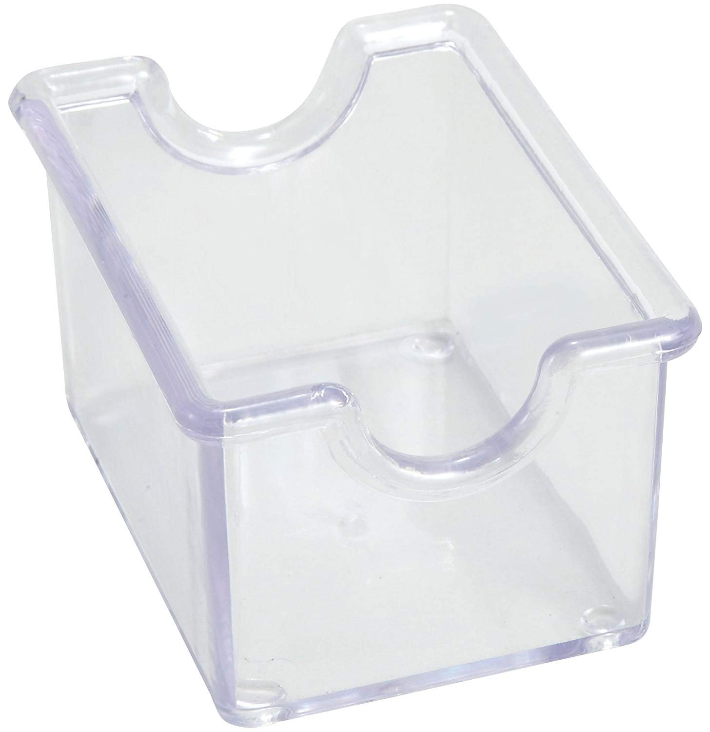 Winco 12-Piece Clear Sugar Packet Holder (Set of 2)