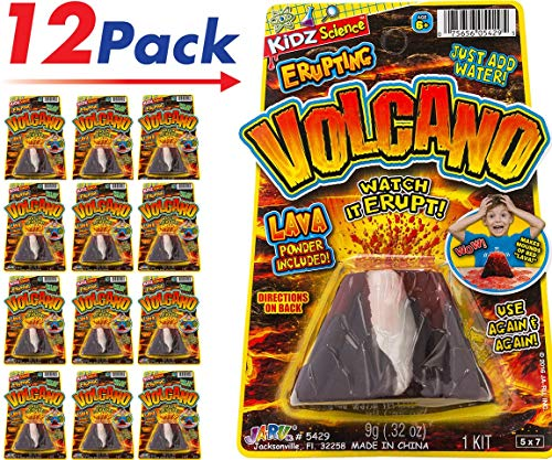 (2CHILL Erupting Volcano Science Kit (Pack of 12) Item #5429-12)