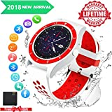 Bluetooth Smart Watch for Android Phones,2018 Smartwatch Android Phone Watch Waterproof Smart Watches Touchscreen with Camera Compatible Android Samsung iOS iPhone X 8 7 6S Plus for Men Women