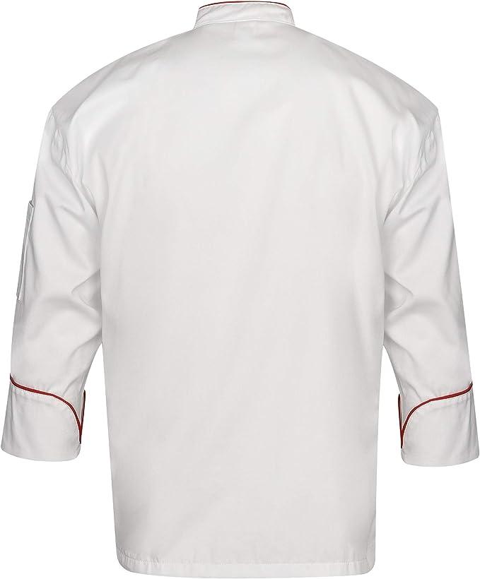 DINOZAVR Biko Nobu Giacche da Chef Uniforme Professionale Manica Lunga