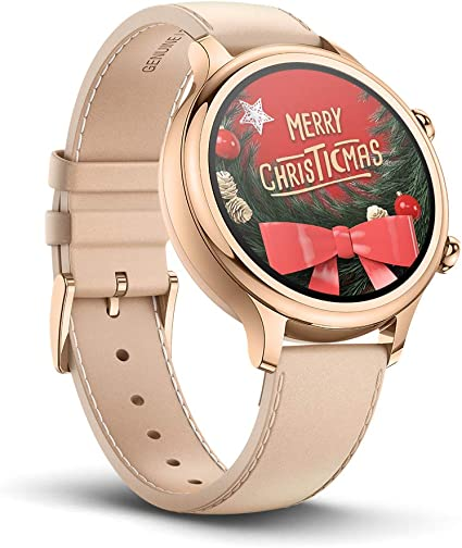 Ticwatch C2, Wear OS Smartwatch for Women with Build-in GPS, Waterproof, NFC Payment, for iOS and Android (Rose Gold)