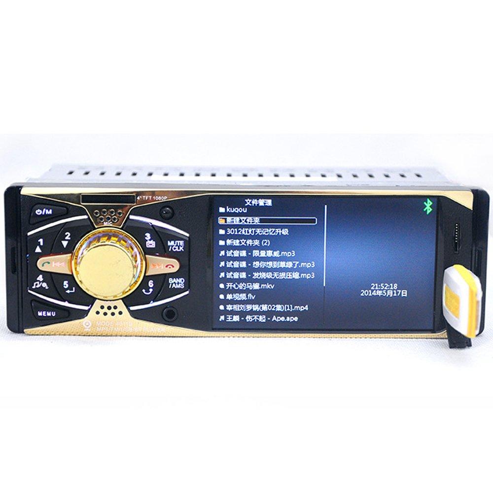 Eaglerich 4 inch HD TFT Screen Car Radio Bluetooth MP3 MP4
