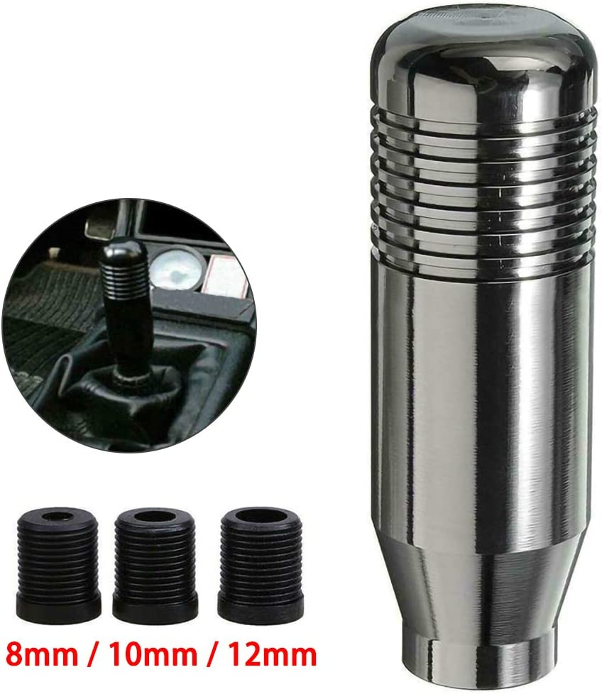znwiem Auto Schalthebel manueller automatischer Schaltknauf Schalthebel Aluminium Schaltkopf Universal