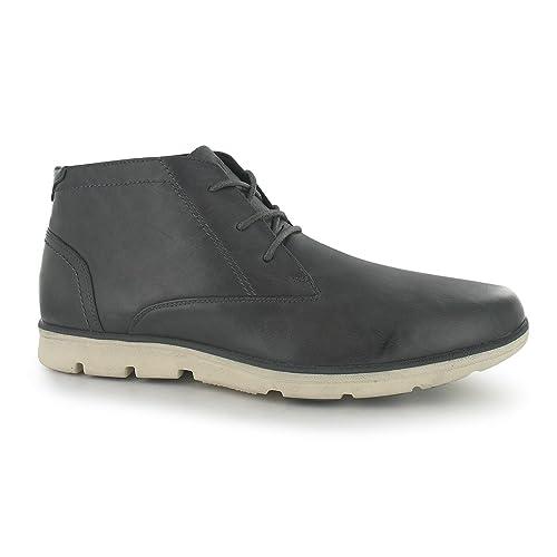 Lee Cooper Milo - Botines para hombre (elegantes), color gris, talla 42 EU: Amazon.es: Zapatos y complementos