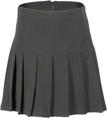 Girls Navy Blue Skater School Skirt Age 12