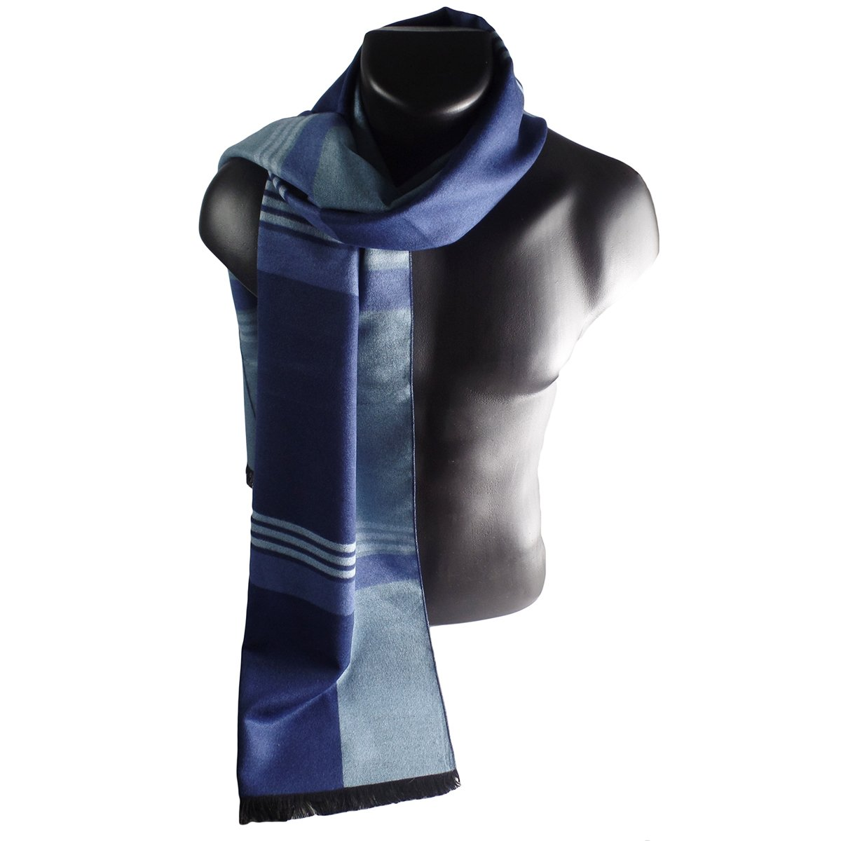 Mens Elegant Fashion Winter Scarves (Blue)