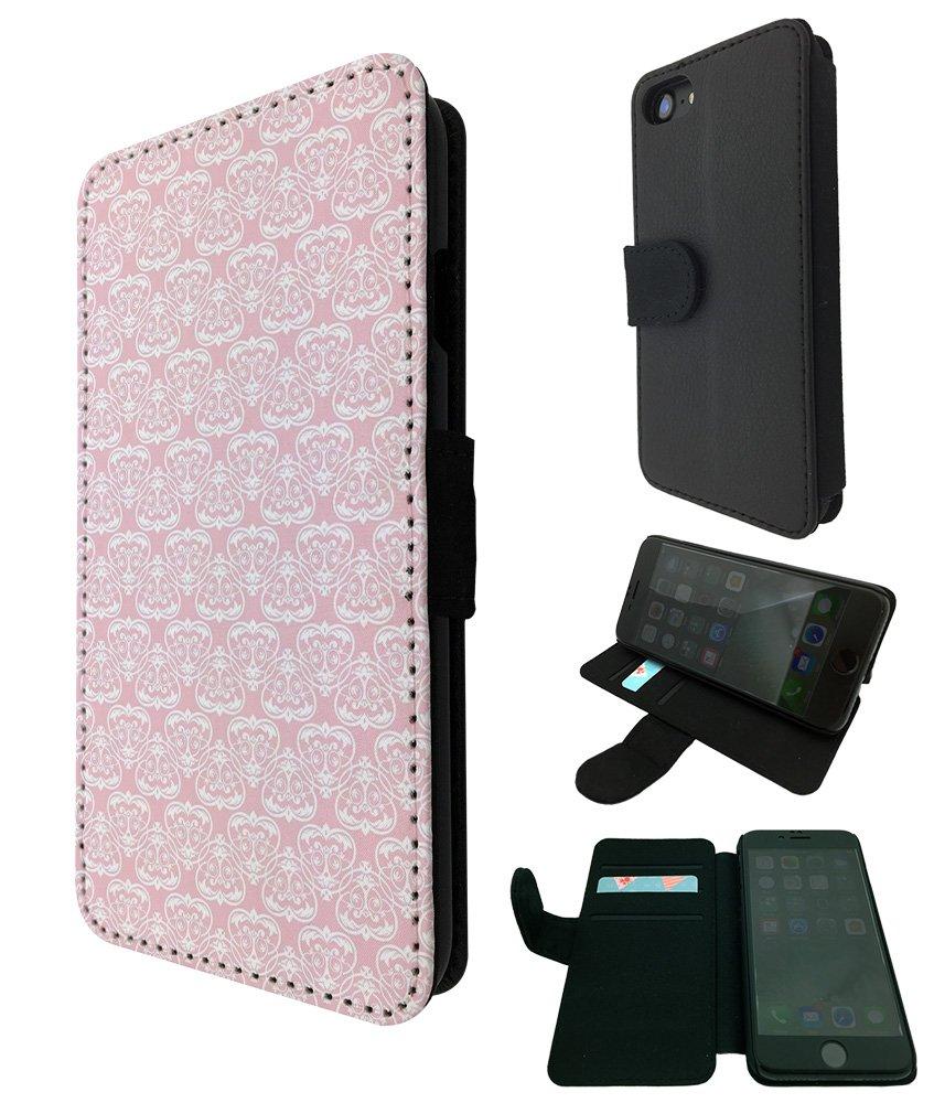 Amazon Com 002871 Geometric Girly Pink Wallpaper Pattern