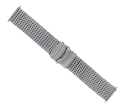 60ed2b7493d 22MM SHARK MESH STAINLESS STEEL WATCH BAND STRAP BAND FOR BREITLING THICK  HEAVY