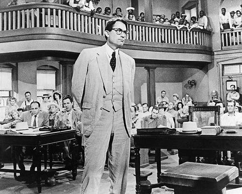 To Kill a Mockingbird Gregory Peck in courtroom scene 8x10 Promotional Photograph (To Kill A Mockingbird Best Scene)