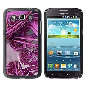 Estuche Cubierta Shell Smartphone estuche protector duro para el teléfono móvil Caso Samsung Galaxy Win I8550 I8552 Grand Quattro / CECELL Phone case / / 3D Lines Abstract Plastic Art