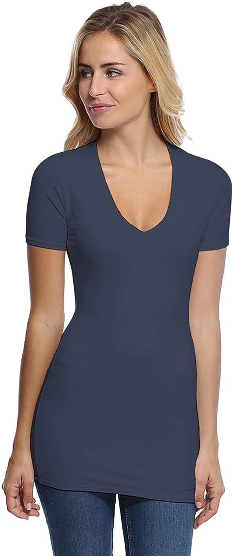 Rendez You Paris SYLVIA08 - Camiseta larga con cuello en V ...
