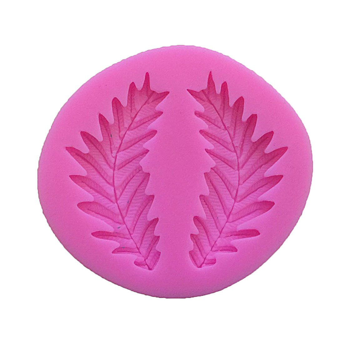 joyliveCY Hojas de arce Compatible Conma Silicona Fondant molde Chocolate molde para hornear