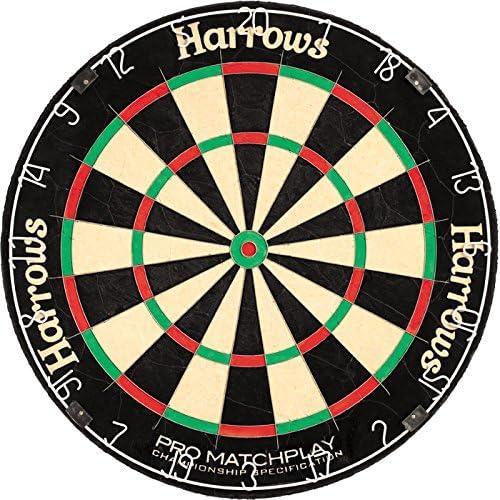 Bristle Dartboard HARROWS Dartscheibe für Steeldarts Pro Matchplay NEU