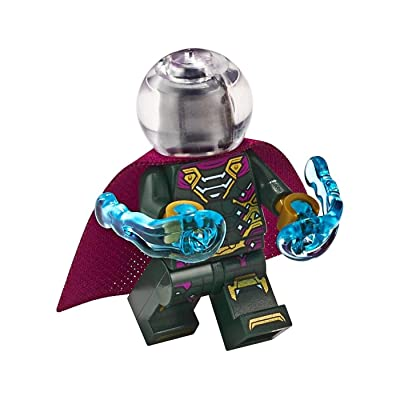 LEGO Spider-Man Far from Home Mysterio Minifigure 76129 Mini Fig: Toys & Games