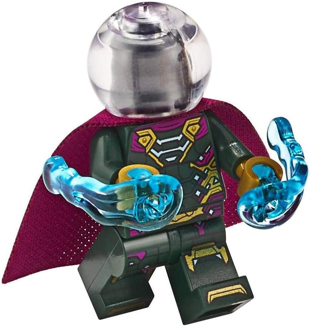 LEGO Spider-Man Far from Home Mysterio Minifigure 76129 Mini Fig