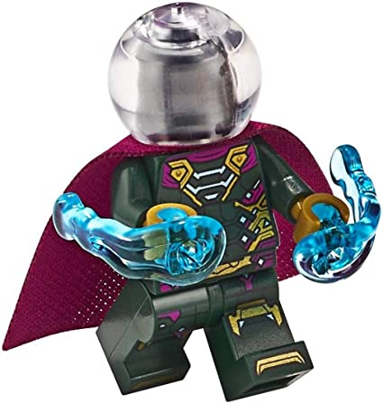NEW LEGO Mysterio GENUINE Minifigure Spider-Man Superhero 76129 Mini Figure