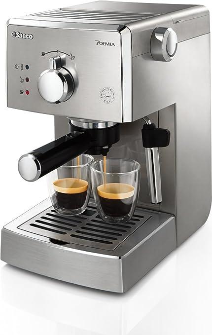1399 opinioni per Saeco HD8427/11 Macchina Espresso manuale Poemia Top