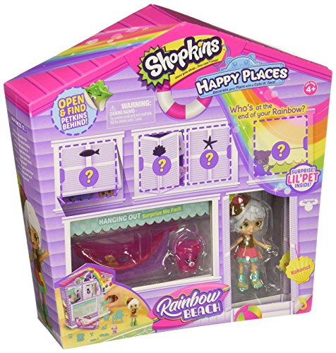 Place Furniture Collection - Shopkins Happy Places Rainbow Beach Furniture Set - Hanging Out