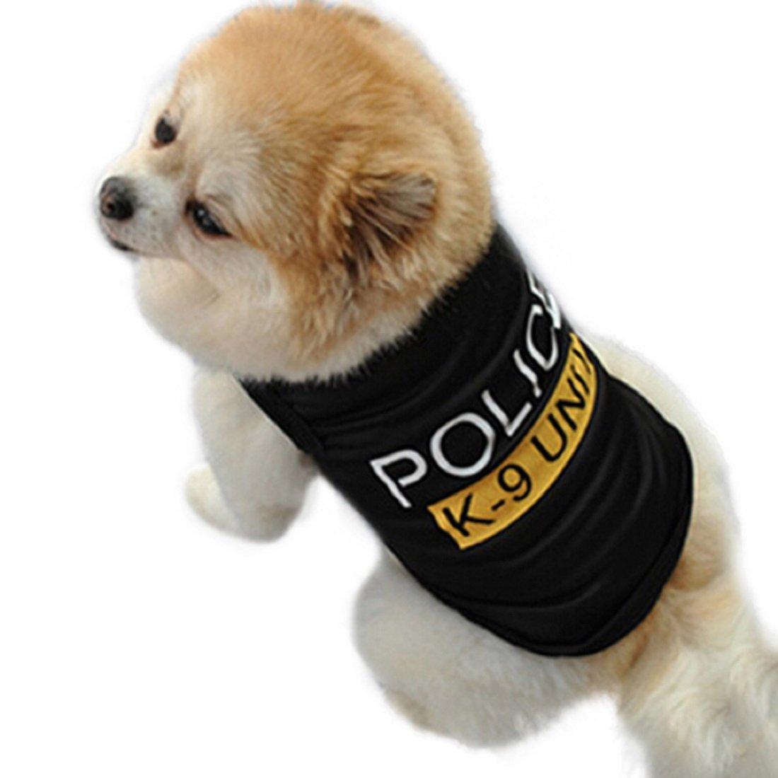 Inception Pro Infinite Costume con Stampa Police - Poliziotto - Polizia - Forze dell' Ordine - Carabinieri - Cane ( L )