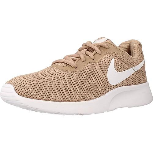 Nike Tanjun, Zapatillas de Running para Mujer, Beige (Sand/White 201)