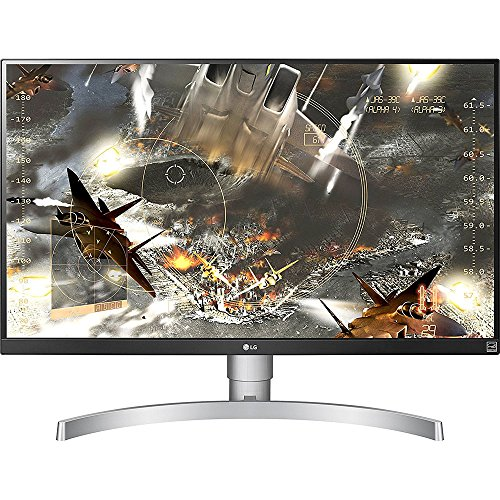 LG 27UK650-W 27 Inch 4K UHD IPS LED Monitor with HDR 10 and Adjustable ...