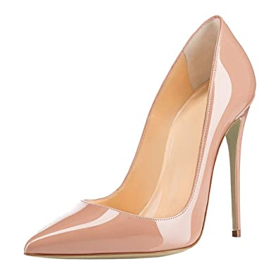 Soireelady Femmes Élégant Talon Haut Chaussures Sexy Bout Pointu Chaussures Soir Fête Chaussures Gradient EU40 d5yQjSQZm