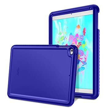 Fintie iPad 9.7 2018/2017, iPad Air 2, iPad Air Case - [Mighty Shield] Heavy Duty Anti Slip Shock Proof Kids Friendly Drop Protection Silicone Cover ...