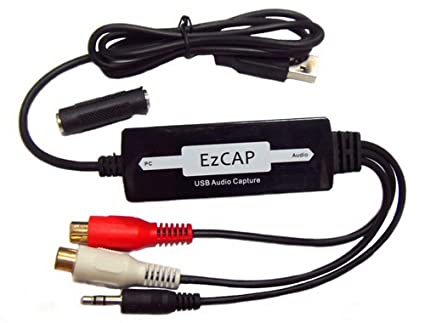 USB Audio Capture Left and Right Channel Acquisition Conversion MP3 USB Audio Capture
