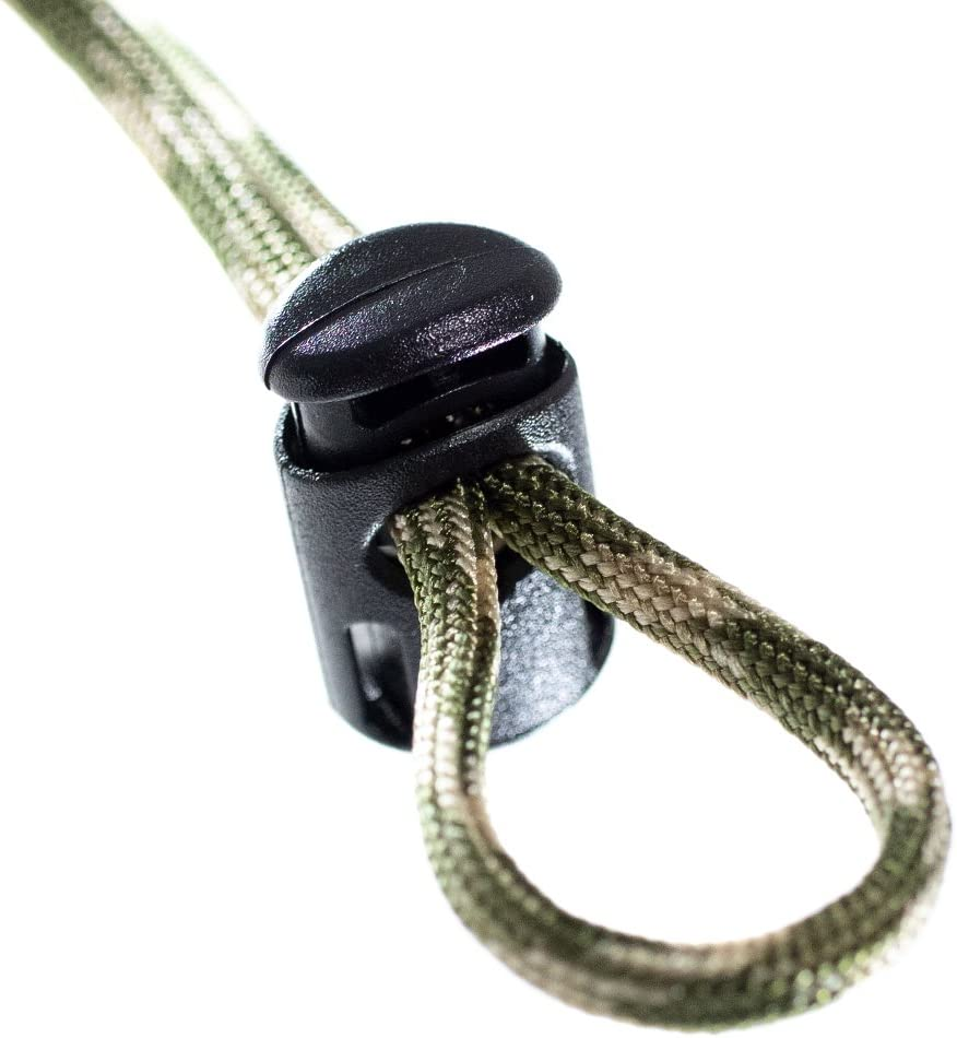 String Stop PARACORD PLANET Toaster Ellipse Cord Lock 10 Pack