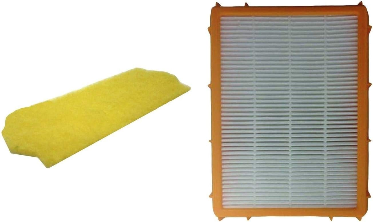 buybuynice for Replacement Eureka Smart Vacuum Filter & HF2 Filter Part # 61111B 70082