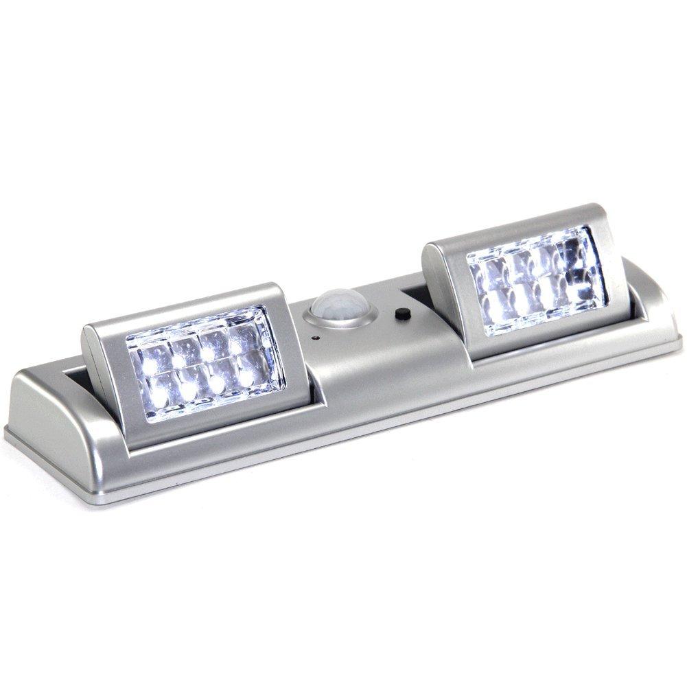 FISHTEC ® Lámpara domótica de 16 luces LED, con Detector por infrarrojos, 50 lumens: Amazon.es: Iluminación